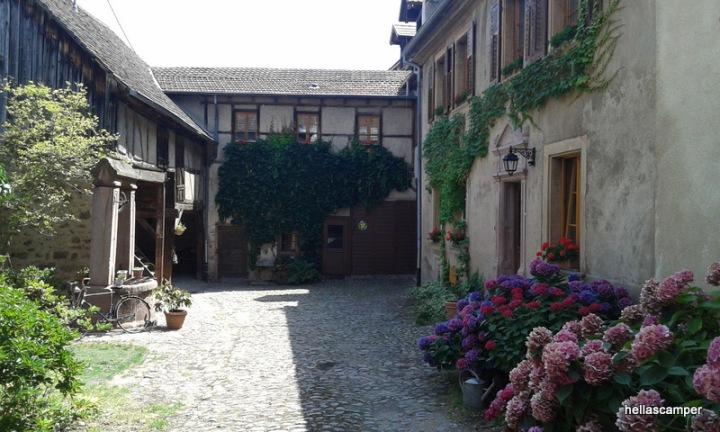 Ταξίδι στην Αλσατία (Kientzville,Bergheim)